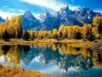 Reflecting Autumn Lake