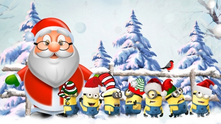 christmas minions - Minions Christmas