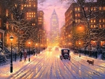 Winter City Lights