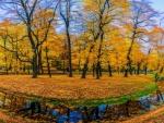 River At Fall
