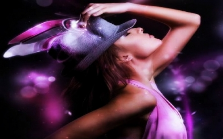 ●(‵▽′● - model, woman model image, wallpaper, violet, woman