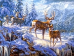 Gathering of Deer