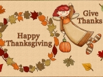Thanksgiving~Give Thanks