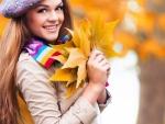 * Autumn girl *