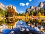 Yosemite Valley In Fall