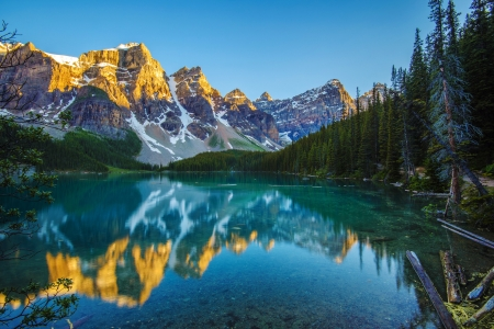 Amazing Lake - mountain, amazing, lake, blue