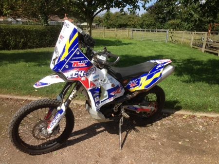 LC4-50 - bike, endurance, rally, dakar