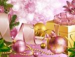 Joyful Pink Holiday