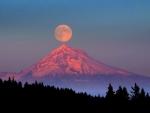 Super Moon-Oregon, USA