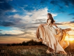 Beauty and Sunset