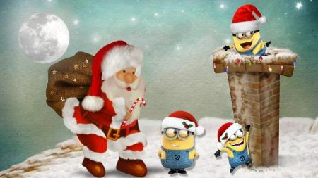 Christmas Minions Theme By MaDonna