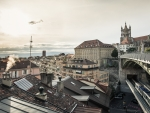 rooftops of lausanne switzerland