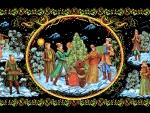 Winter~Christmas Folk Art