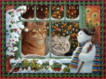 Wonderment of Winter to Cats