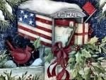 Holiday Mailbox F
