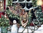 Santa's Sleigh F