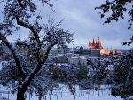 Winter View To Prague