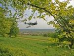 Spitfire over Malvern