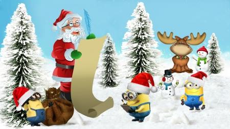 christmas minions by madonna - Minions Christmas Tree