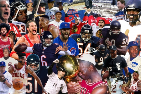 Chicago Sport Legends - bulls, blackhawks, hd, nhl, white sox, nfl, background, nba, illinois, chicago, patrick kane, cubs, bears, walter payton, michael jordan