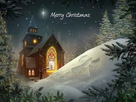 Merry christmas - Winter & Nature Background Wallpapers on Desktop ...