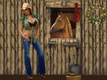 Holiday Cowgirl