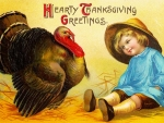 Hearty Thanksgiving Greeting
