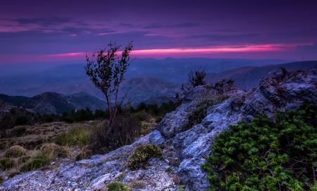 Sierra Nevada Spain Sunsets Nature Background