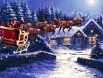 Santa's Long Journey