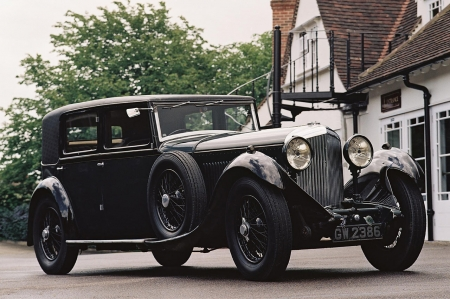bentley 8 litre - bentley, car, litre, vintage, sedan