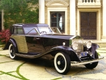 rolls royce phantom II brewster town car