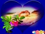 heart,flower,couple,romance,