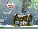 Spongebob Squarepants Krusty Krab Winter Desktop Background