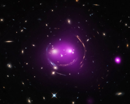 Gravity's Grin - stars, cool, space, fun, galaxy