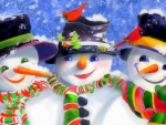 Triple Snowmen
