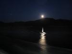 Moonlight wake.