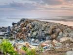 rocky point on a beach