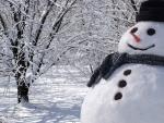 Big Boy Snowman
