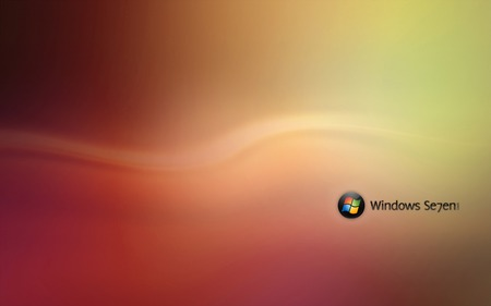 Wallpaper 81 - Windows 7 - microsoft, seven, ball, yellow, windows, orange, 7, vista, windows 7