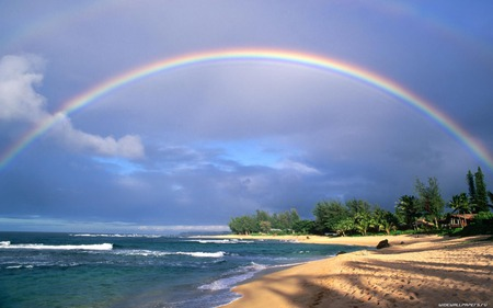Rainbow - rainbow, nature