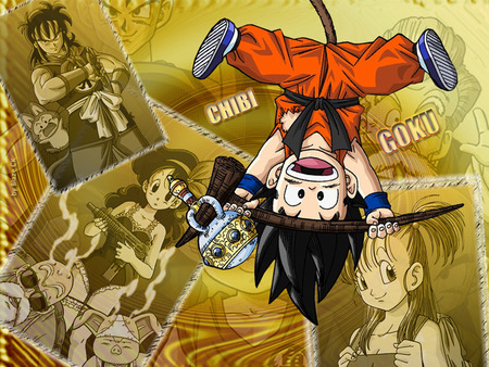 Chibi Goku - goku, memories, chibi