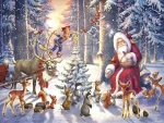 Forest christmas