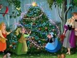Cinderalla Christmas Tree