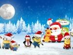 Christmas Miniions Theme