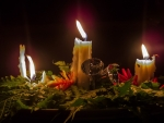 'christmas candles' from the web at 'http://cache.desktopnexus.com/thumbseg/2050/2050873-thumbnail.jpg'