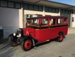 oldtimer fiat small bus