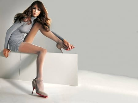 Mia Rosing - model, Mia, legs, beautiful, heels, stockings, Rosing, wallpaper, Mia Rosing, 2015