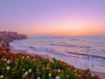 Sunset Above a Coast