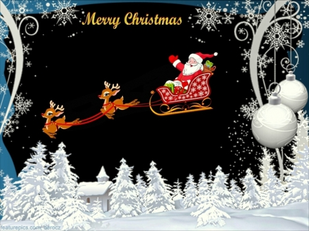 Santa's Here - Father Christmas, Reindeer, Santa, Presents