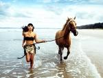 Cowgirl Beach Jog